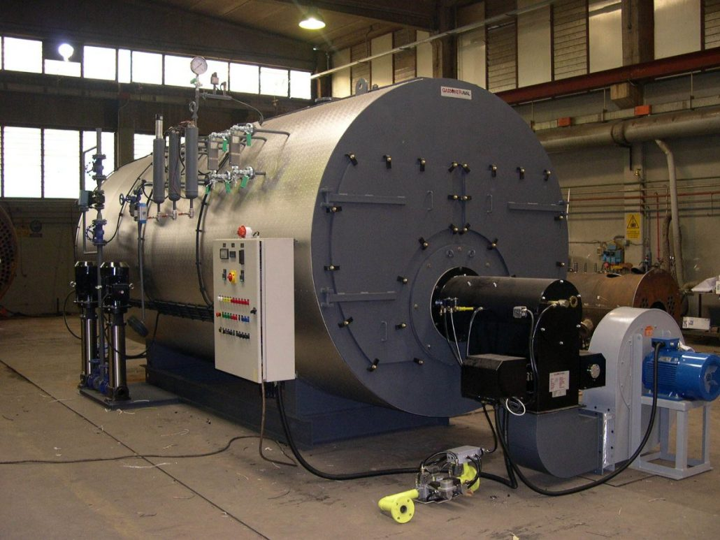 Steam Generator Efficiency For Liquid And Gaseous Fuels