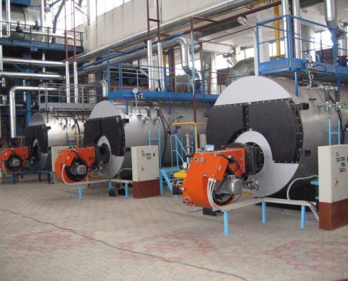 Промышленные парогенераторы - модель gpt - 1
