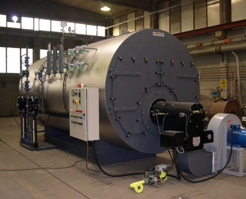 Промышленные парогенераторы - модель gpt - 6