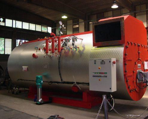 Промышленные парогенераторы - модель gpt - 9