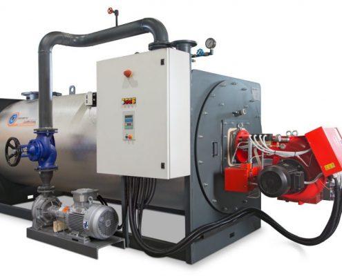 генераторы промышленное диатермическое масло - МОДЕЛЬ TH - 1