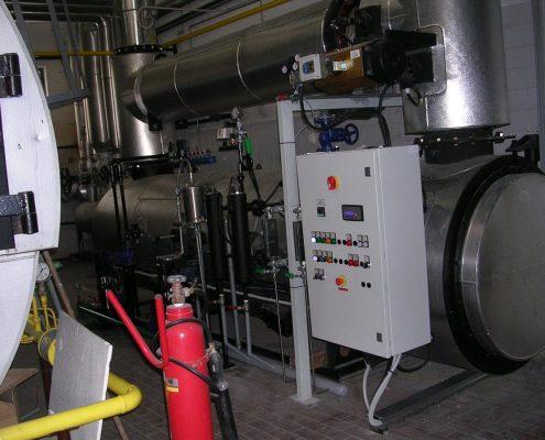 Generatore di vapore a recupero di calore