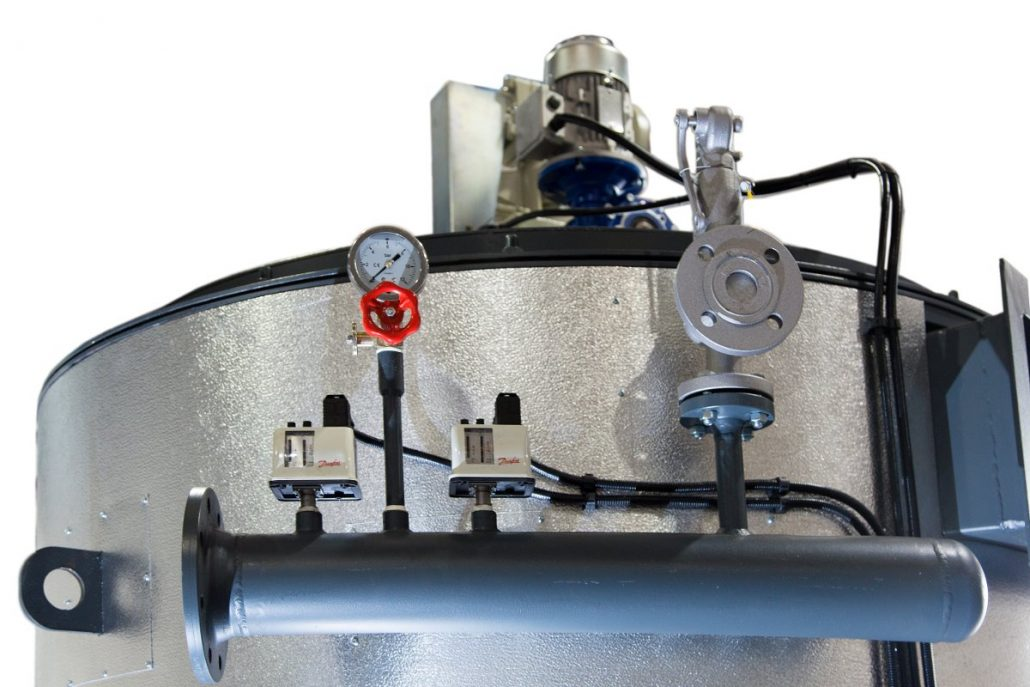 Heat Recovery Heater  Diathermic Thermal Oil  Steam Recovery Generator