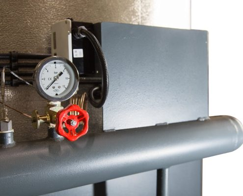 Heat recovery heaters and boilers
