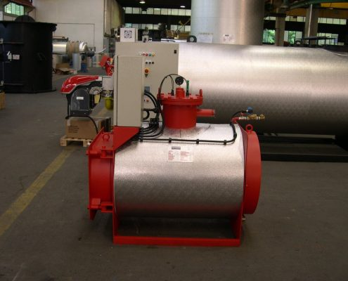 Model GBP Low Pressure Steam Generator