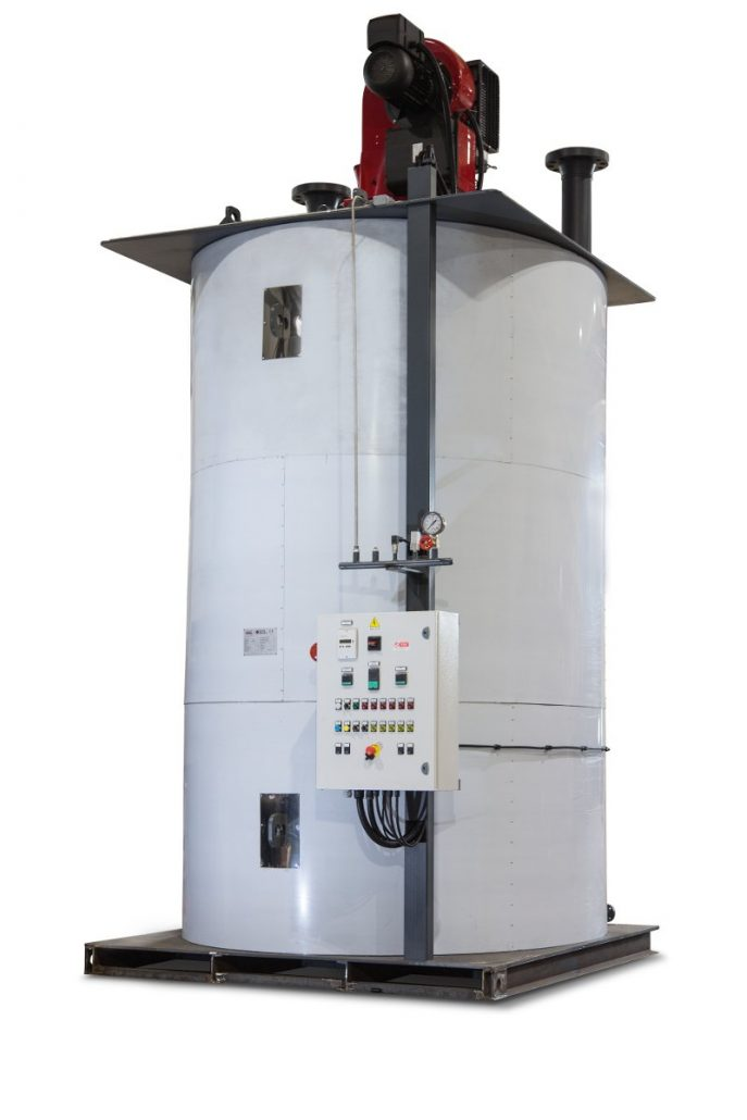 High Pressure Coils : High pressure coil steam generator for food industry