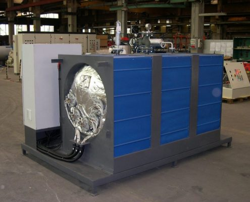 парогенератор промышленный электрический - МОДЕЛЬ GEV - 1