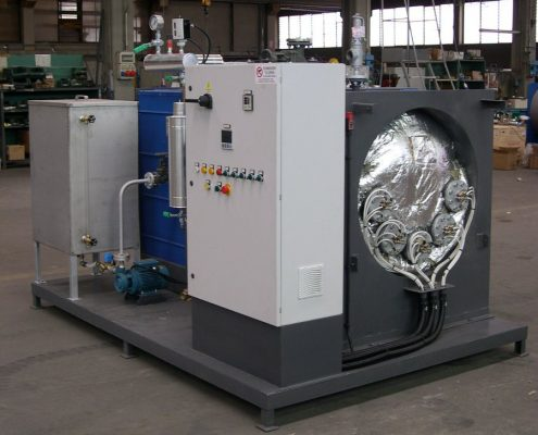 Electrical Steam Generator 100 200 kW