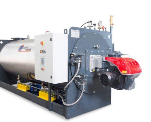 ПРОМЫШЛЕННЫЕ ПАРОГЕНЕРАТОРЫ - водотрубные парогенераторы - МОДЕЛЬ GMT И GMT/V - паровые котлы промышленные - 1