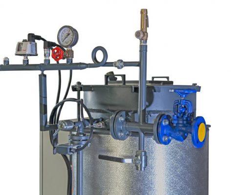 ПРОМЫШЛЕННЫЕ ПАРОГЕНЕРАТОРЫ - водотрубные парогенераторы - МОДЕЛЬ GMT И GMT/V - паровые котлы промышленные - 9