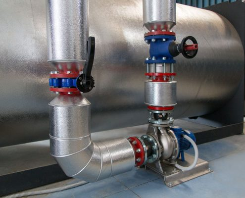 Steel Boiler Hot Water