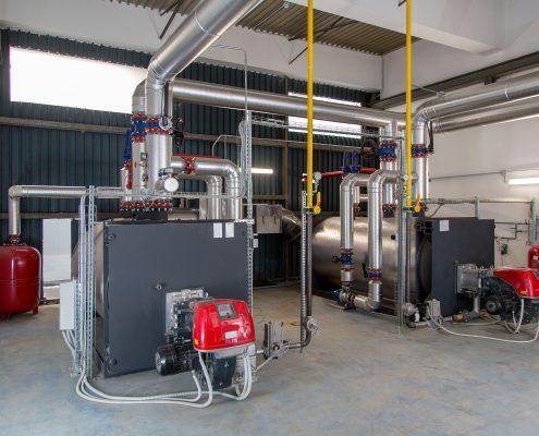Steel Boiler for Hot Water